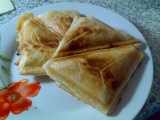 Sendviče z listového těsta recept