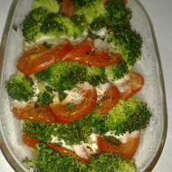 Zapečená brokolice s rajčaty a mozarellou recept