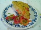 Bezlepkový zeleninový nákyp z quinoi recept