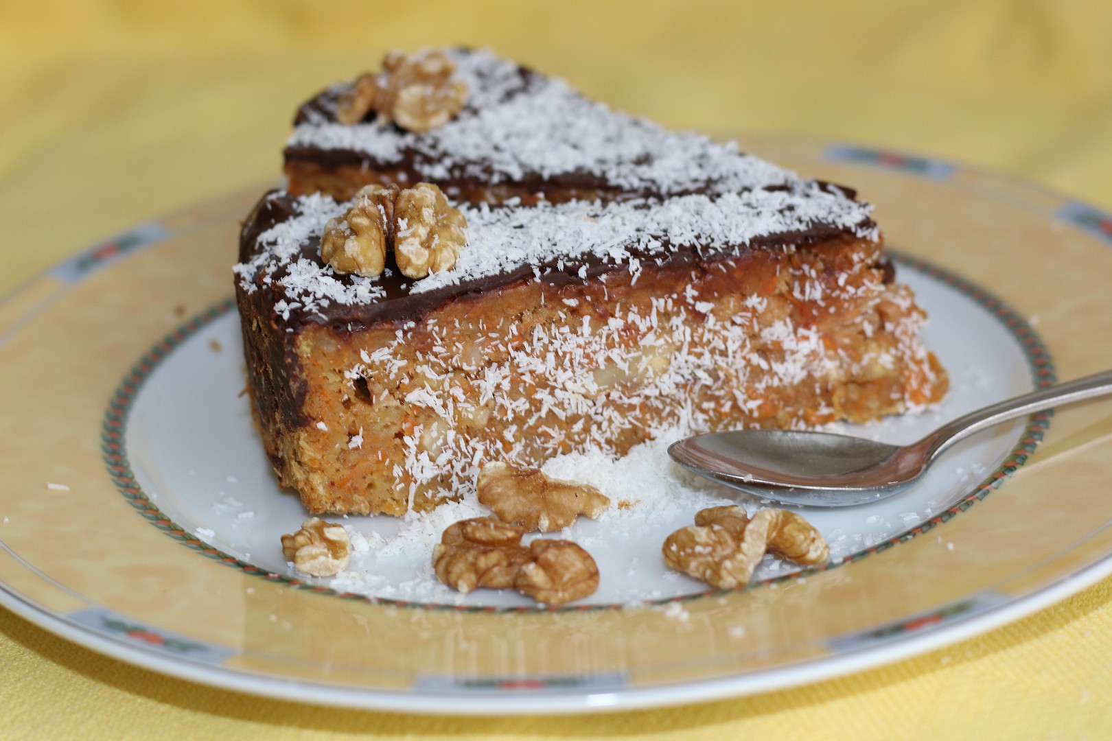 Mrkvovo-jablečný dort recept