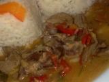 Zeleninové ledvinky na víně s rýží recept