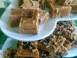 Vanilkové karamelky  fudge recept