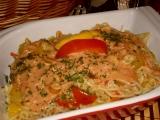 Těstovinový salát s mangem recept