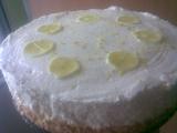 Citronový cheesecake recept