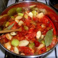 Lehce pikantní domácí kečup recept