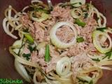 Lehké špagety s tuňákem recept