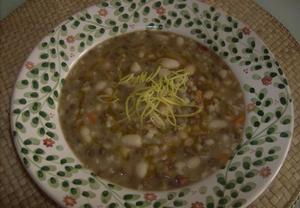Bratříčkova polévka z Hané