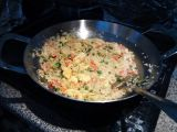 Čínská smažená rýže na curry videoškola recept