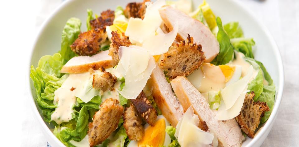 Kuřecí Caesar salát
