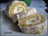 Ořechová roláda se šlehačkou recept