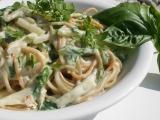 Kedlubnovo  mangoldová omáčka na těstoviny recept  TopRecepty ...