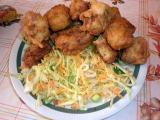 Bůček v pivním těstíčku se zelným salátem recept