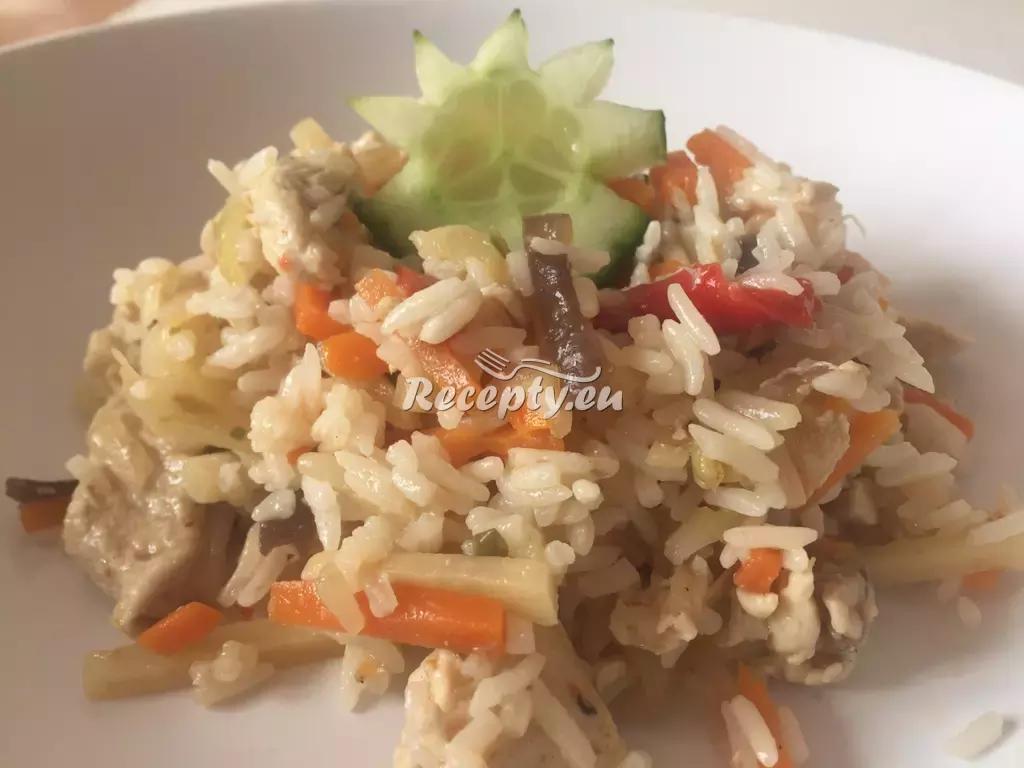 Kuřecí rizoto recept  drůbeží maso