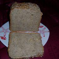 Tmavý kmínový chléb recept