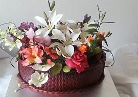 Květinový koš recept