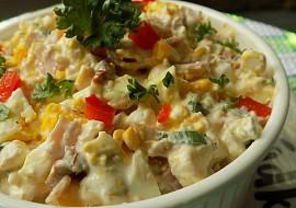 Hermelínový salát s Cottage, vejci a sušenými rajčaty recept ...