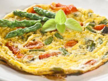 Chřestové omelety