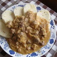 Segedínský guláš z kýty recept
