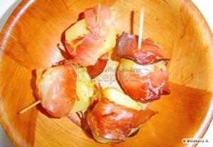 Pečené brambory s pršutem
