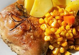 Kuře pečené na rozmarýnu recept