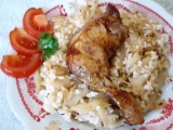 Zelí  kuře  rýže  bomba ! recept
