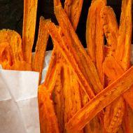 Pečené mrkvové chipsy recept