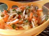 Salát z hlávkového zelí a mrkve recept