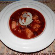 Dietní mexický guláš z kuřecího masa recept
