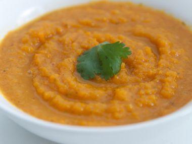 Marocká mrkvová polévka
