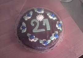 Narozeninový dort od Lucky :) recept