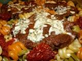 Vepřové plátky s těstovinami recept