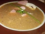 Zeleninový krém s květákem, řapíkatým celerem a houbami recept ...
