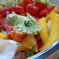 Zeleninový salát s rajčátky a sezamem recept