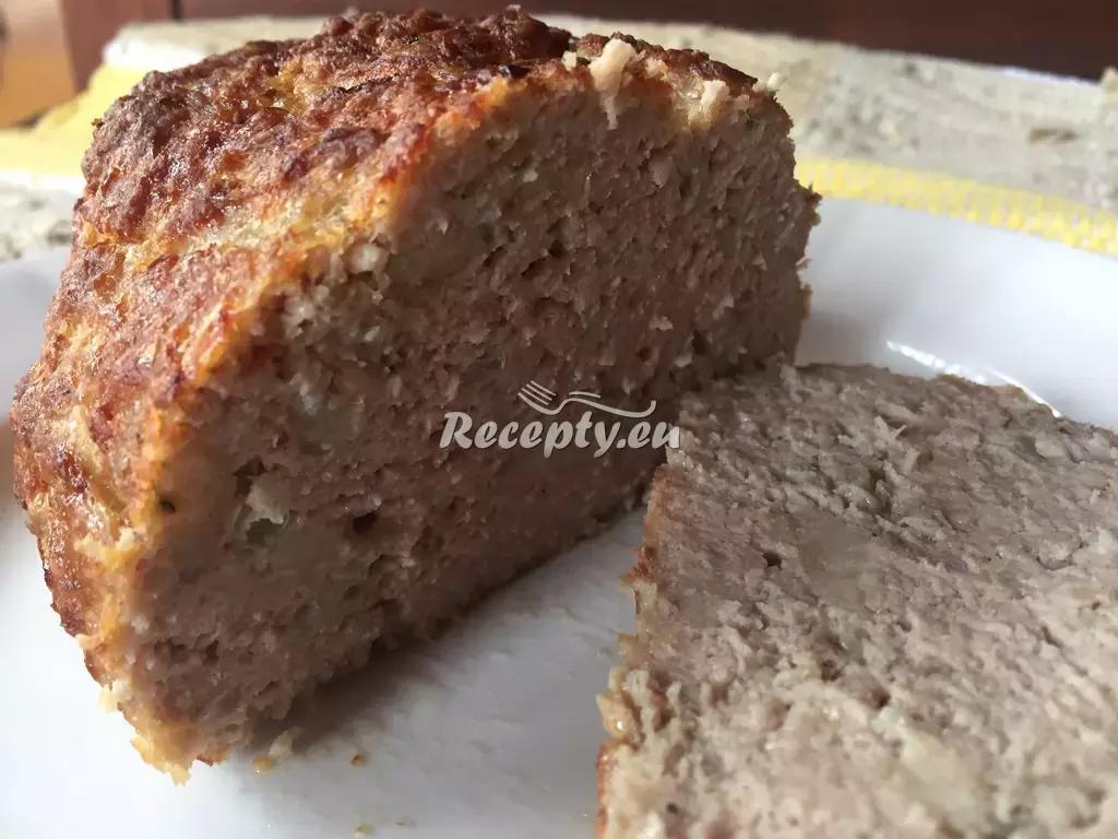 Jelení sekaná pečeně recept  zvěřina