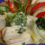 Kuřecí ve smetanové omáčce s brokolicí recept