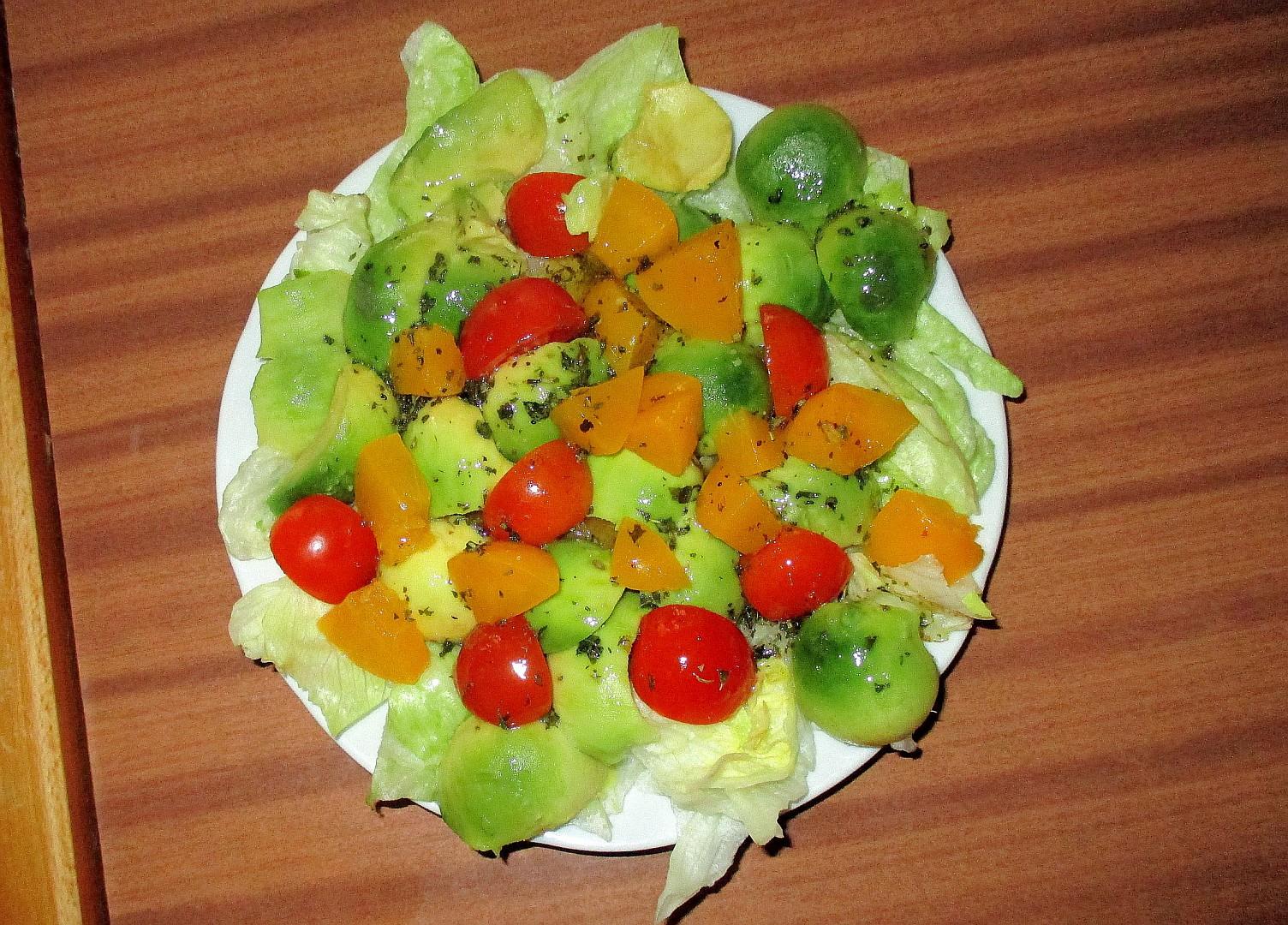 Avokádový salát z Mozambiku  Salada Pera de Abacate recept ...