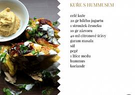 Kuře s hummusem recept