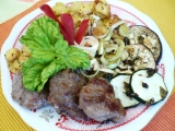 Medailónky s grilovanou zeleninou recept