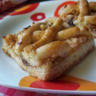 Mřížkovaný jablečný koláč recept
