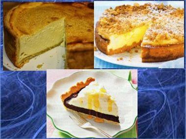 Tvarohový koláč na 3 způsoby