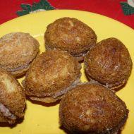 Slepované vánoční ořechy recept