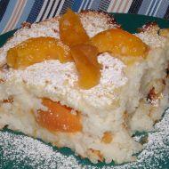 Rýžový nákyp s meruňkami recept