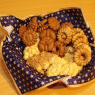 Vanilkové sušenky z lisu na těsto recept