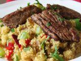 Kořeněné krůtí maso se šafránovým kuskusem se zeleninou recept ...