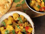 Jednoduché bramborové curry s kuřecím masem recept ...