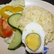 Ruská vejce na talíři recept