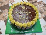 Ořechový krémový dort recept
