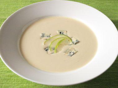 Celerová polévka s jíškou