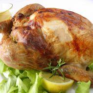 Kukuřičné kuře s hráškovou nádivkou recept