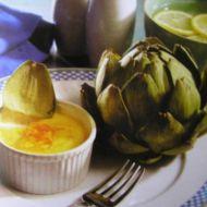 Artyčoky s maltskou omáčkou recept